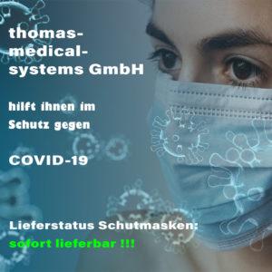 COVID-19 MNS Schutzmasken